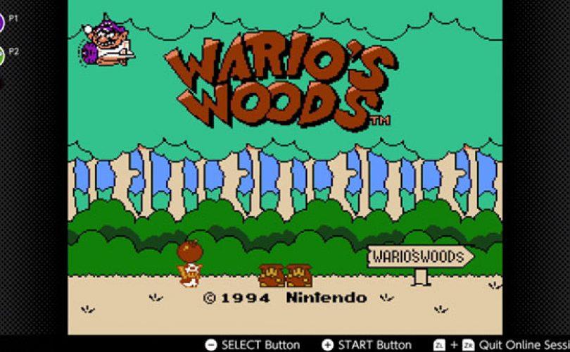 Adventures of Lolo, Ninja Gaiden, e Wario's Woods verranno aggiunti a Nintendo Switch Online a dicembre