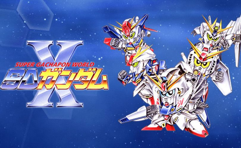 Super Gachapon World: SD Gundam X: dal 6 dicembre in Giappone su Switch