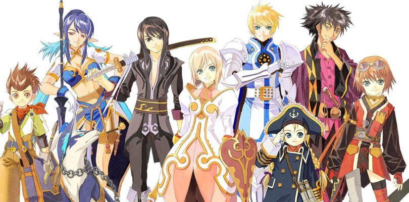La saga Tales of supera i 20 milioni di copie vendute