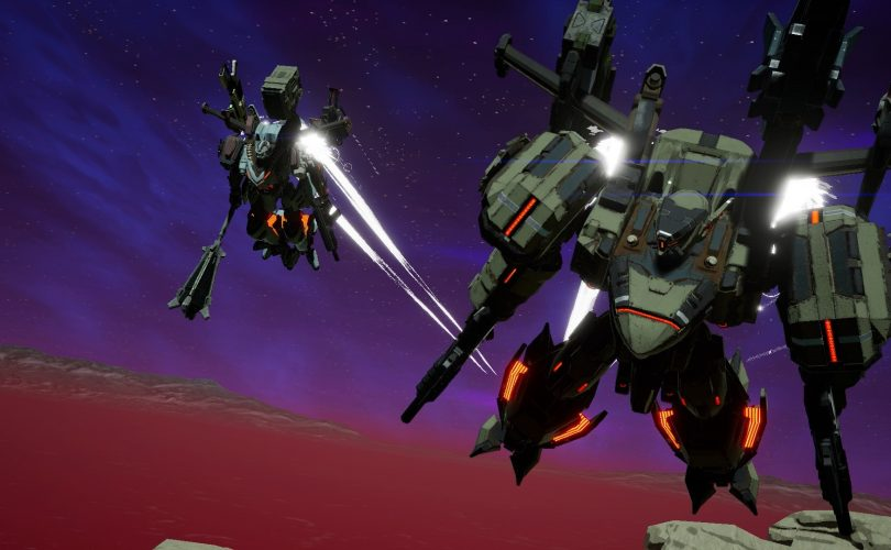 DAEMON X MACHINA debutterà in estate, ma una demo è già disponibile su eShop