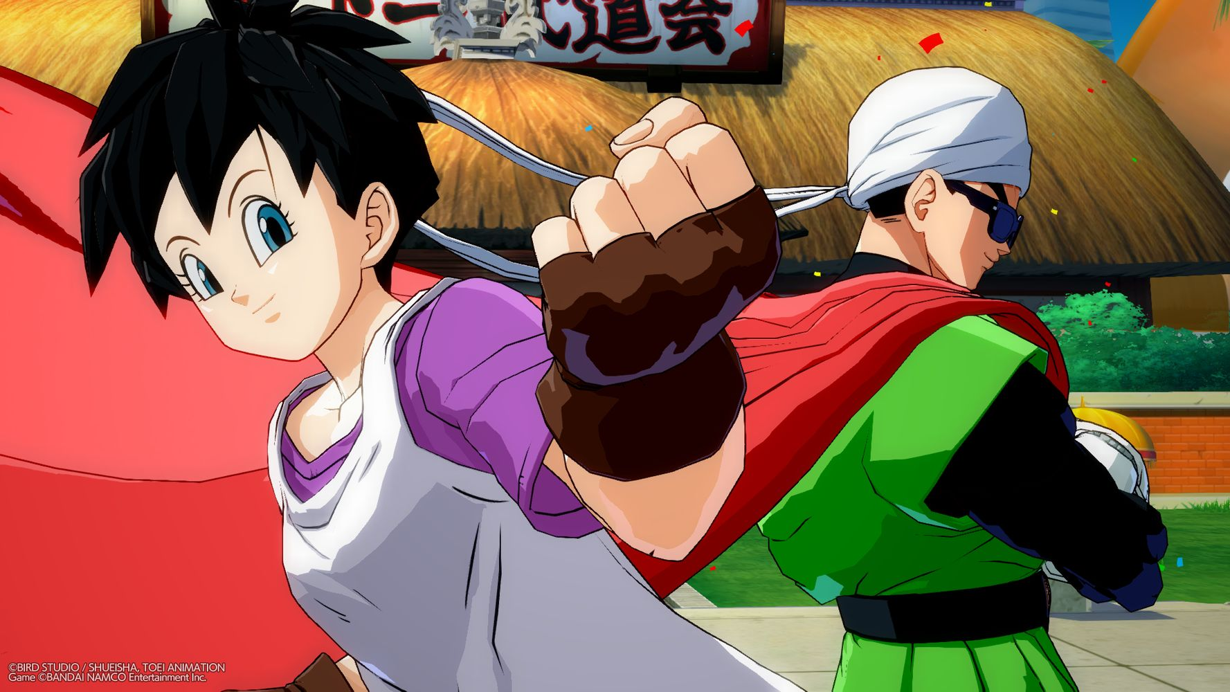 DRAGON BALL FighterZ - Videl e Great Saiyaman