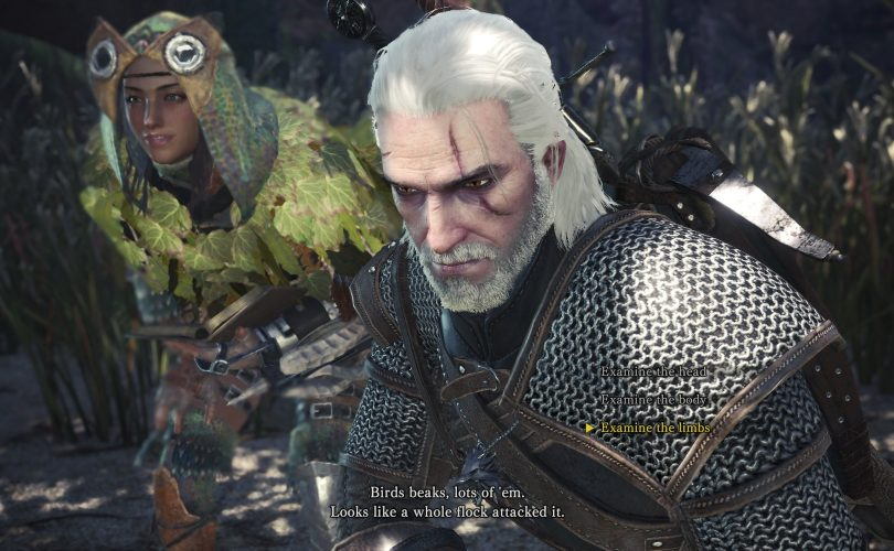 MONSTER HUNTER: WORLD – Disponibile la collaborazione con The Witcher 3