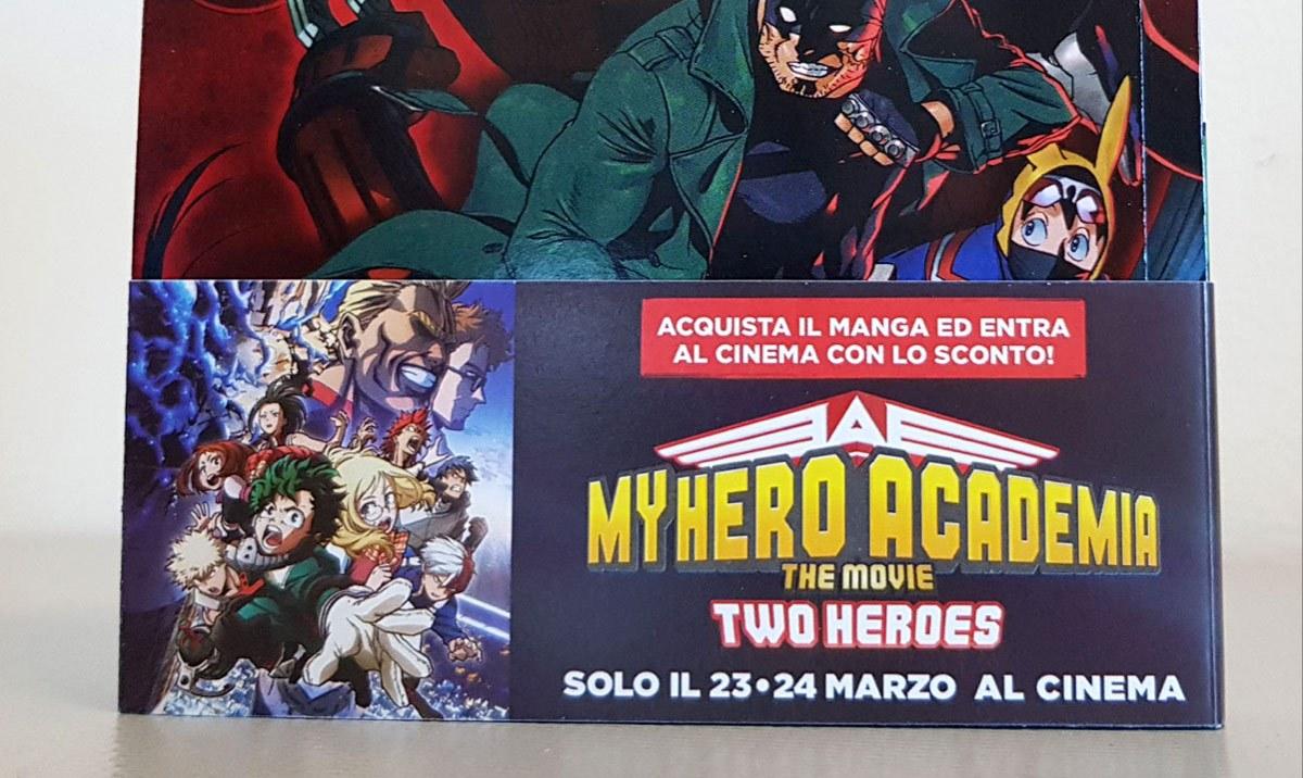 Sconto ingresso MY HERO ACADEMIA THE MOVIE - TWO HEROES