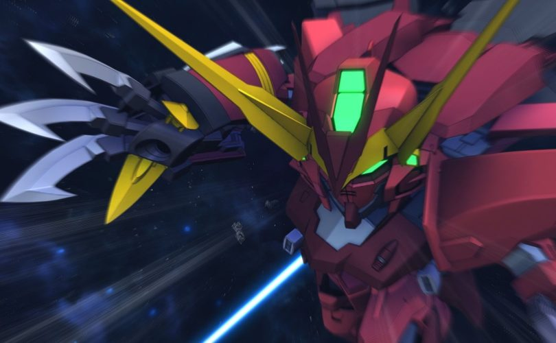 SD Gundam G Generation Cross Rays: video di gameplay dal Tokyo Game Show 2019