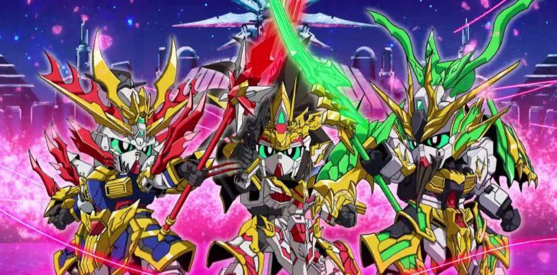 SD Gundam World Sangoku Sōketsuden: annunciata una nuova serie anime
