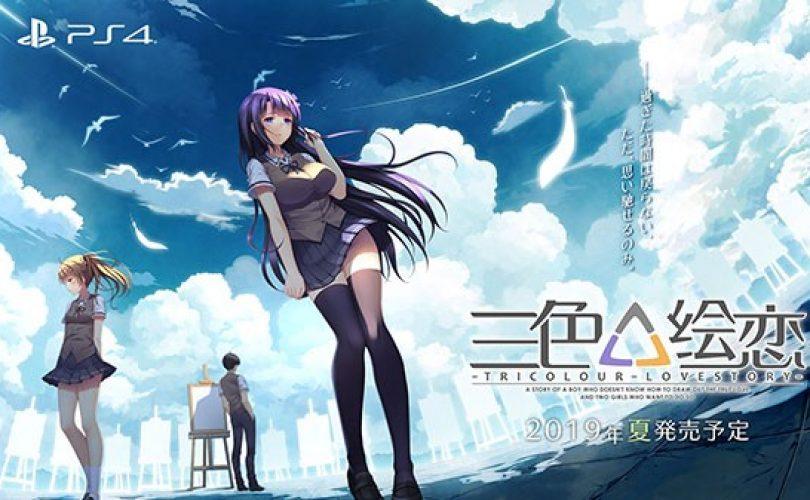 Tricolour Lovestory uscirà in Giappone quest'estate per PS4