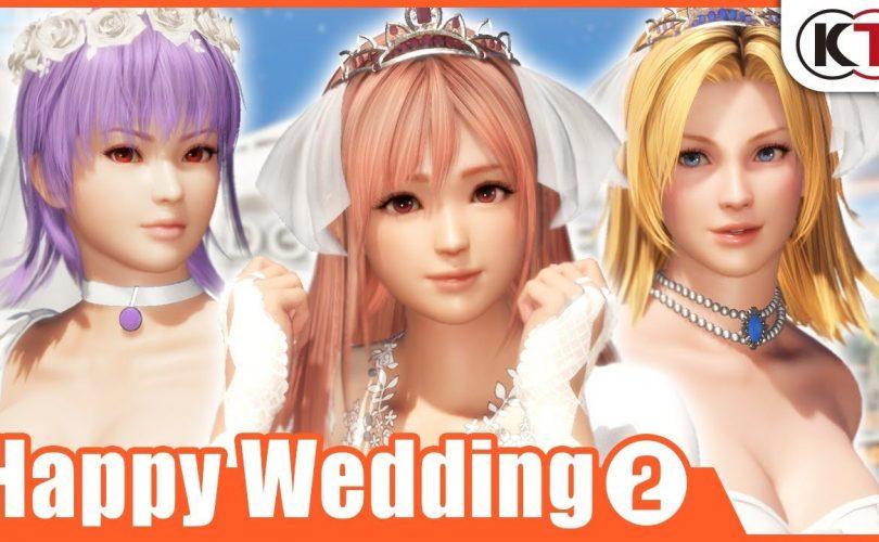 DEAD OR ALIVE 6: un trailer per il DLC 'Happy Wedding Vol. 2'