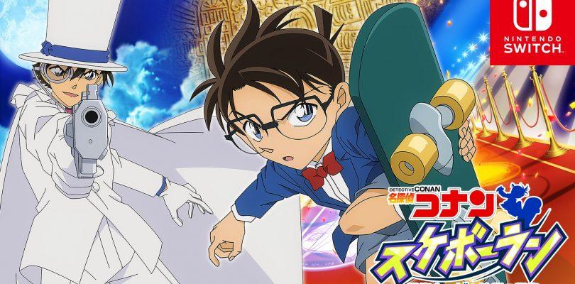 Meitantei Conan Skateboard Run annunciato per Switch