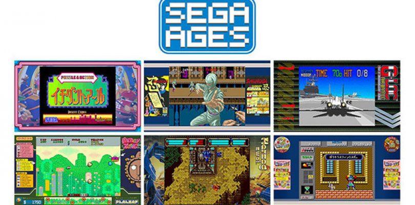SEGA AGES: ben sei nuovi titoli sono in arrivo su Nintendo Switch