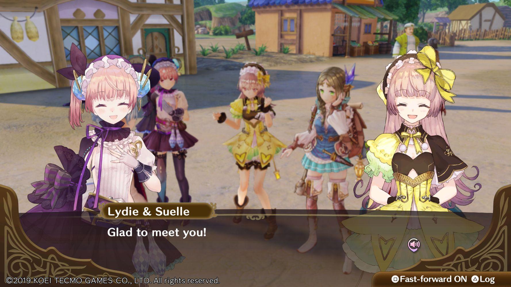 nelke and the legendary alchemists recensione screenshot 01