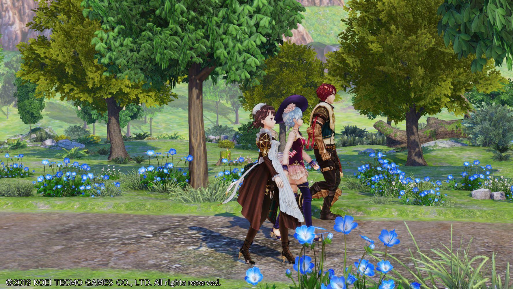 nelke and the legendary alchemists recensione screenshot 12