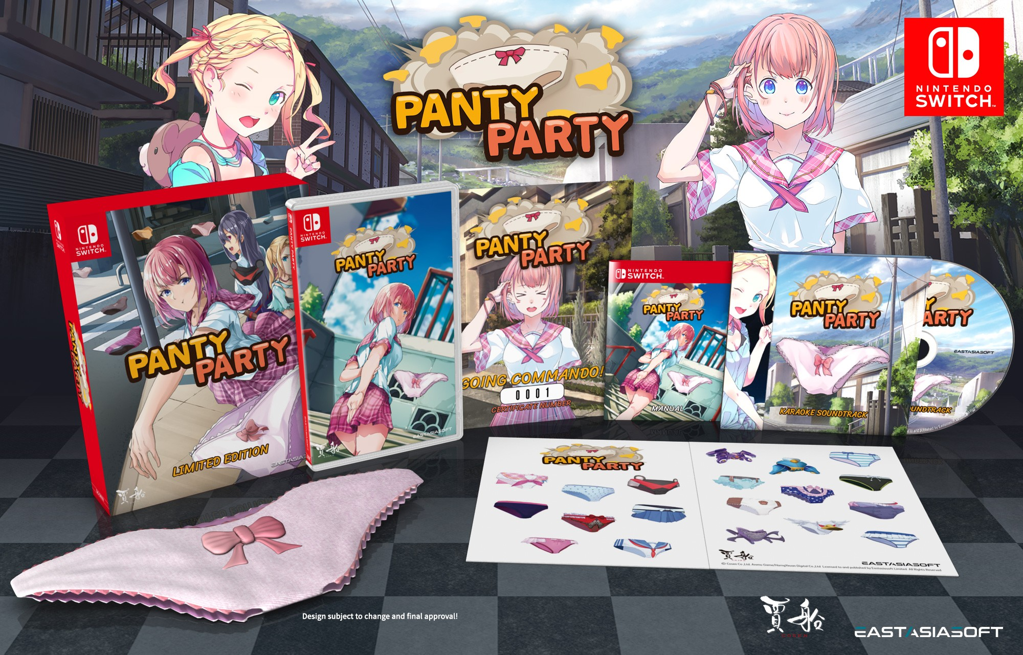 panty party limited edition