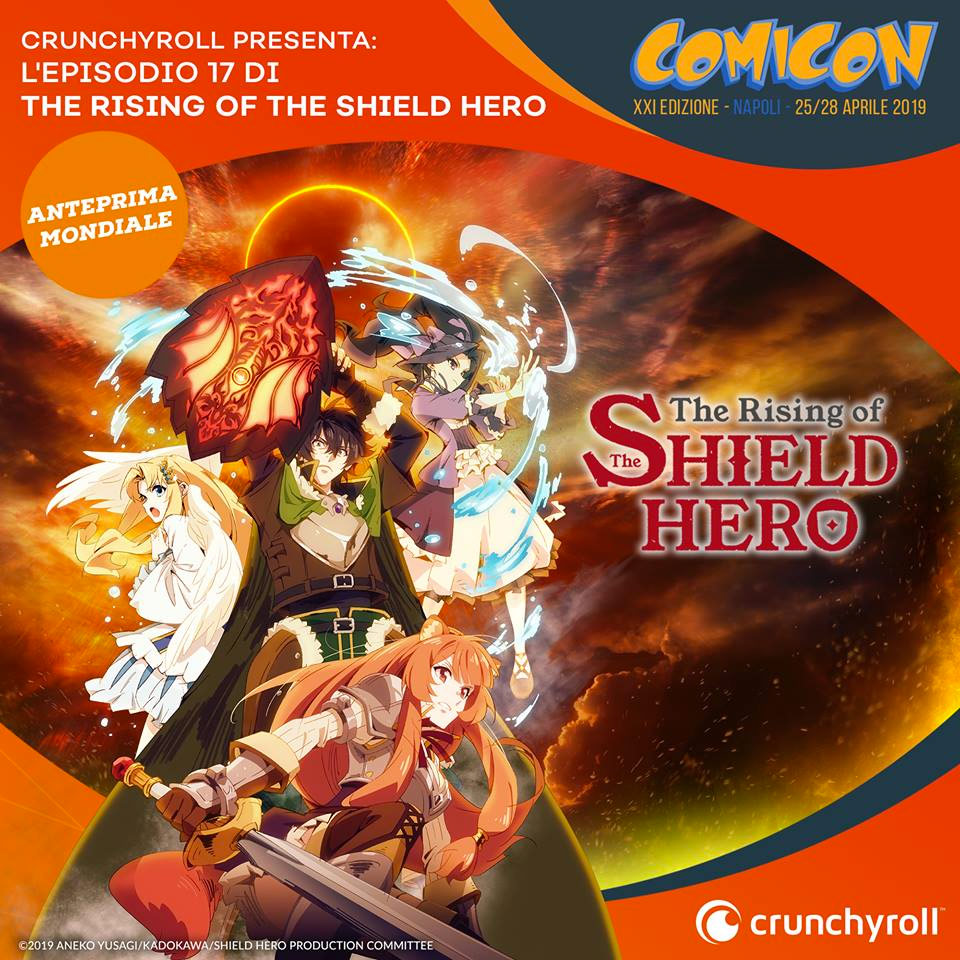 the rising of shield hero comicon
