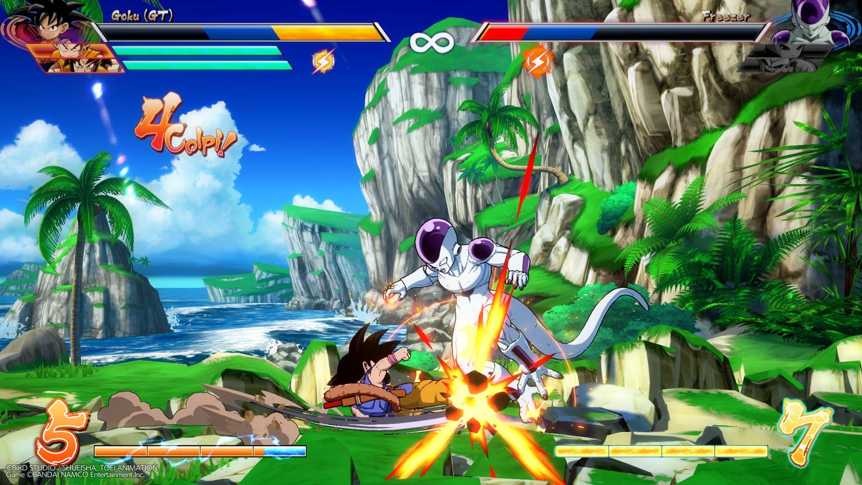 dragon ball fighterz goku gt anteprima dlc screenshot 05