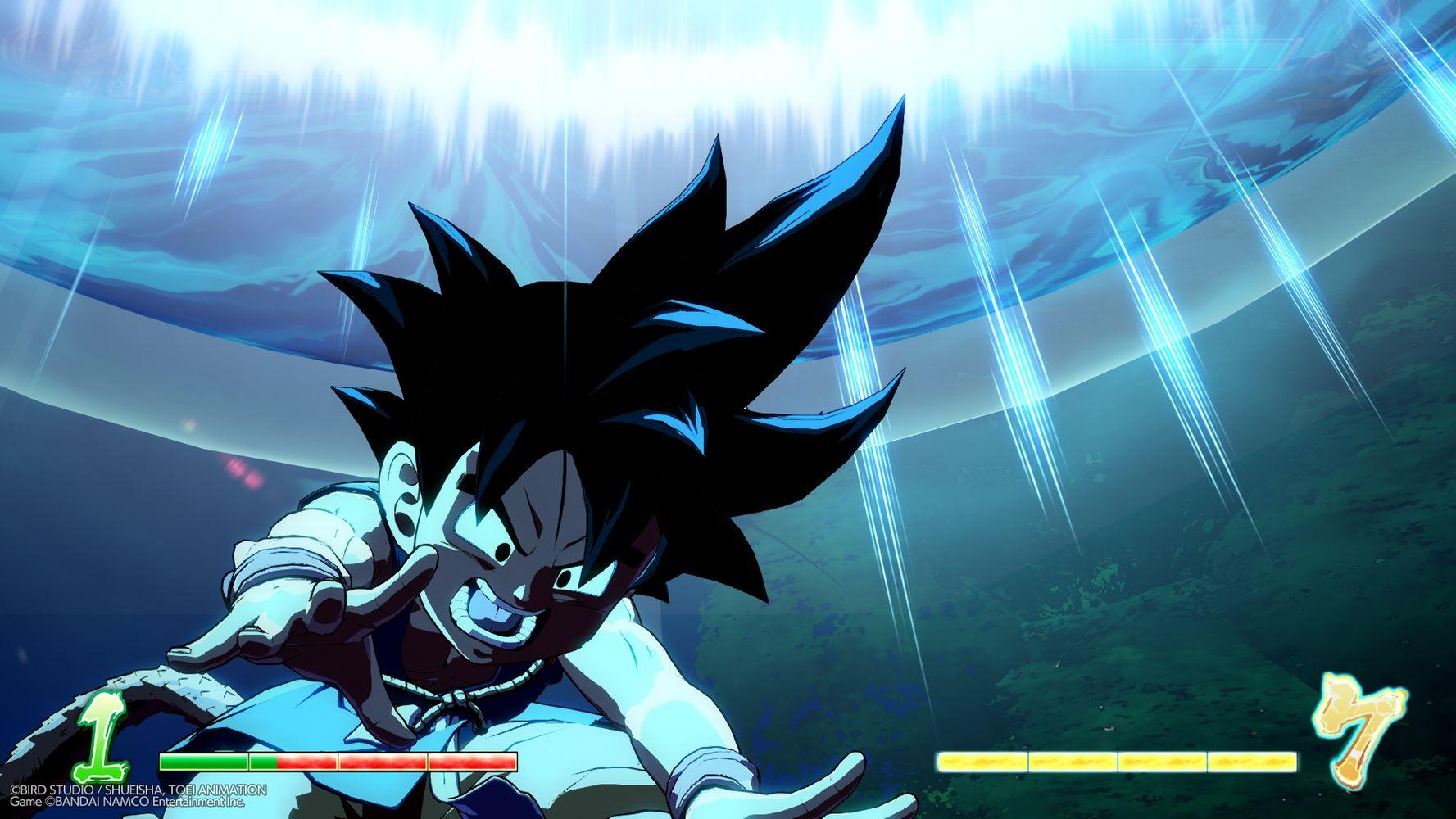 dragon ball fighterz goku gt anteprima dlc screenshot 10
