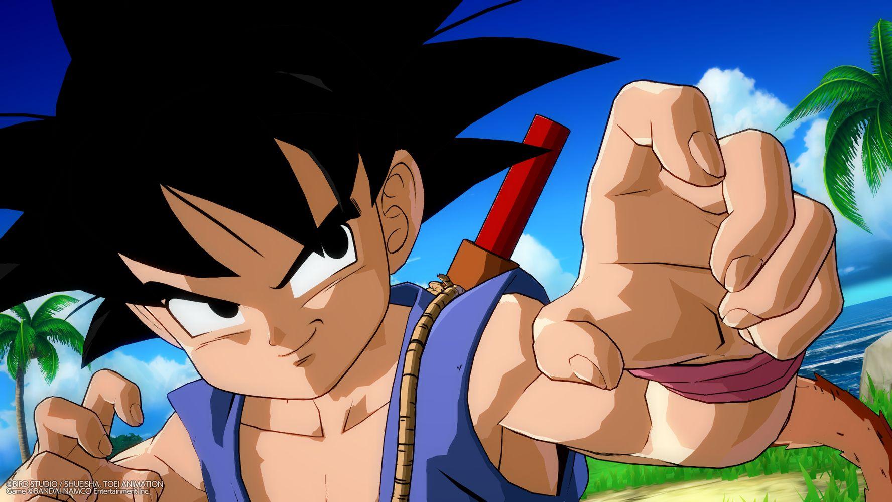 dragon ball fighterz goku gt anteprima dlc screenshot 11