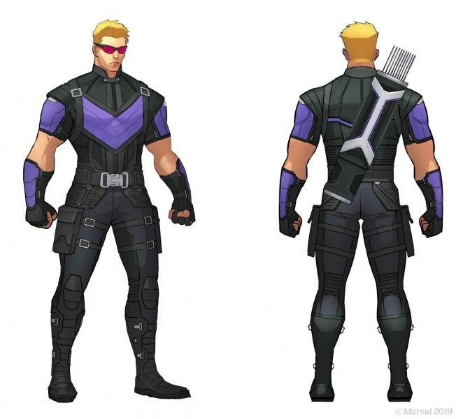marvel ultimate alliance 3 hawkeye
