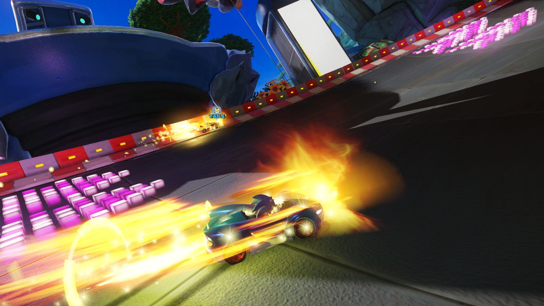 Team Sonic Racing, derapata con Sonic