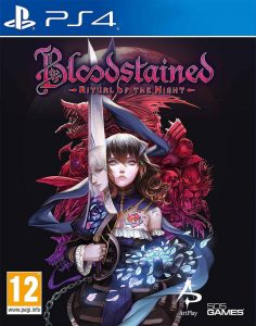 Bloodstained: Ritual of The Night box art PS4