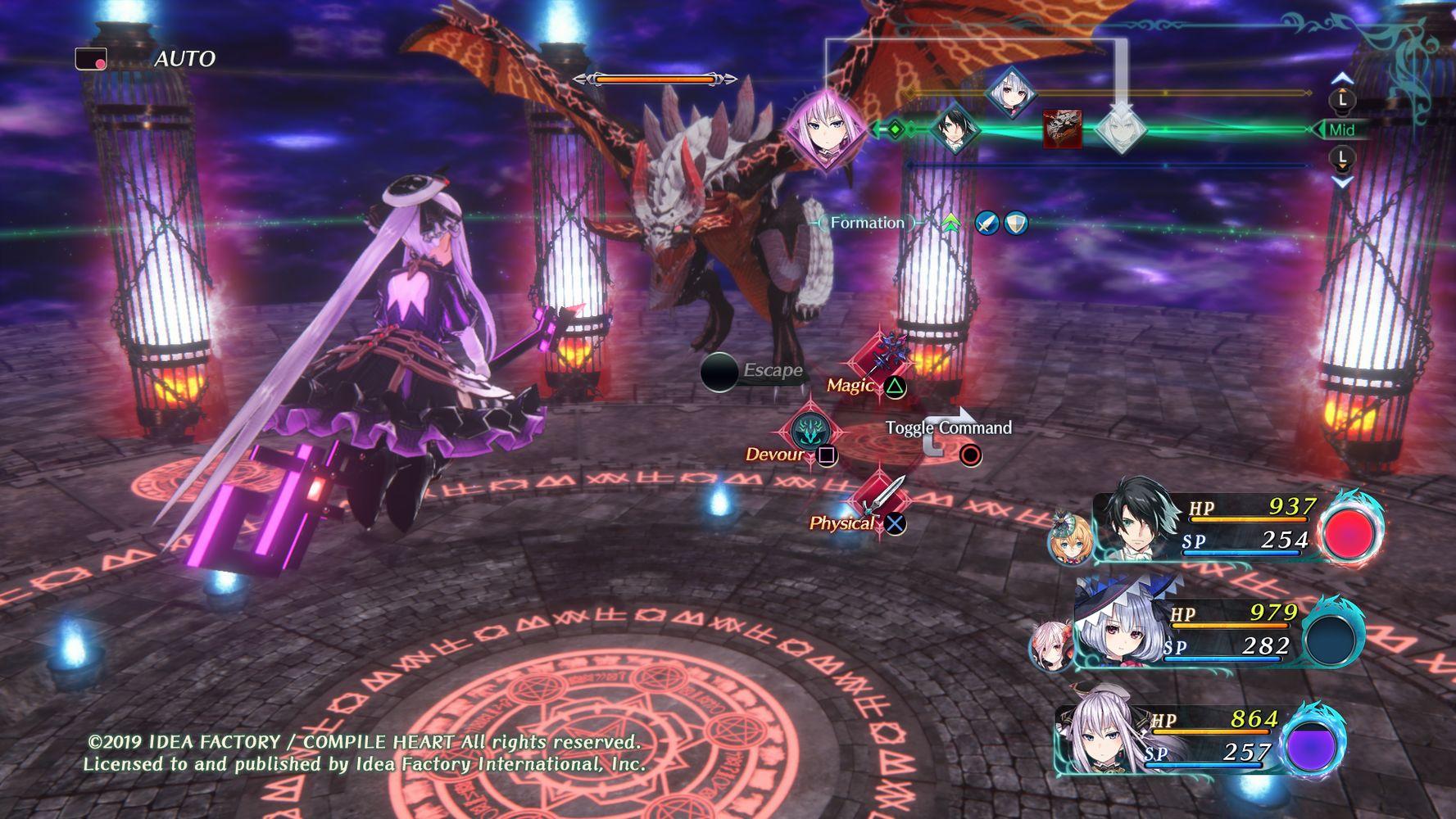 Dragon Star Varnir battaglia
