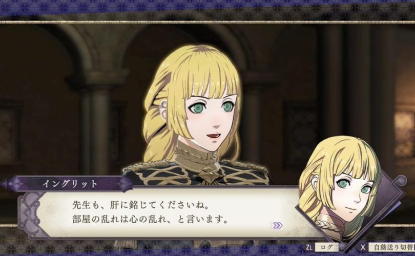 Fire Emblem: Three Houses – Trailer di presentazione per Ingrid