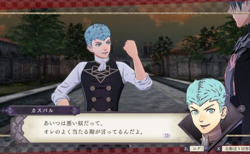 Fire Emblem: Three Houses – Trailer di presentazione per Kaspar