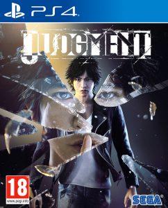 JUDGMENT - Copertina del gioco per PS4