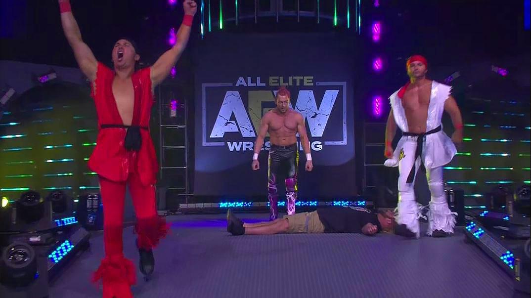 AEW: Kenny Omega e gli Young Bucks omaggiano Street Fighter