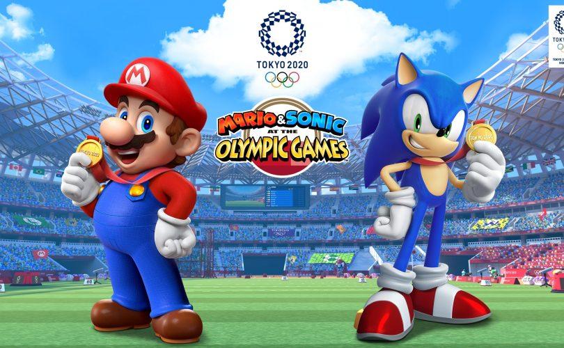 Mario & Sonic ai Giochi Olimpici di Tokyo 2020: il filmato di apertura