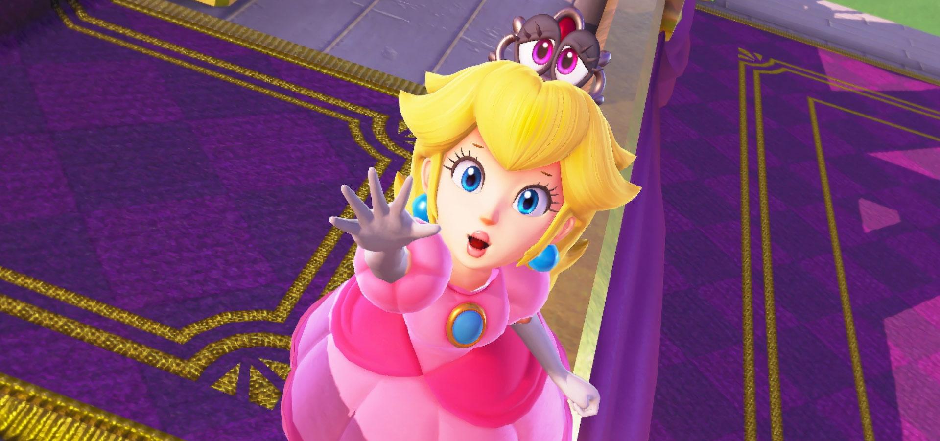 Principessa Peach - SUPER MARIO ODYSSEY