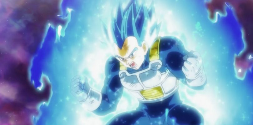 Super Saiyan God Super Saiyan Evolved Vegeta