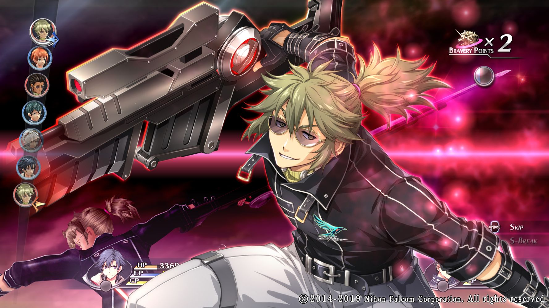 The Legend of Heroes: Trails of Cold Steel II, battaglie