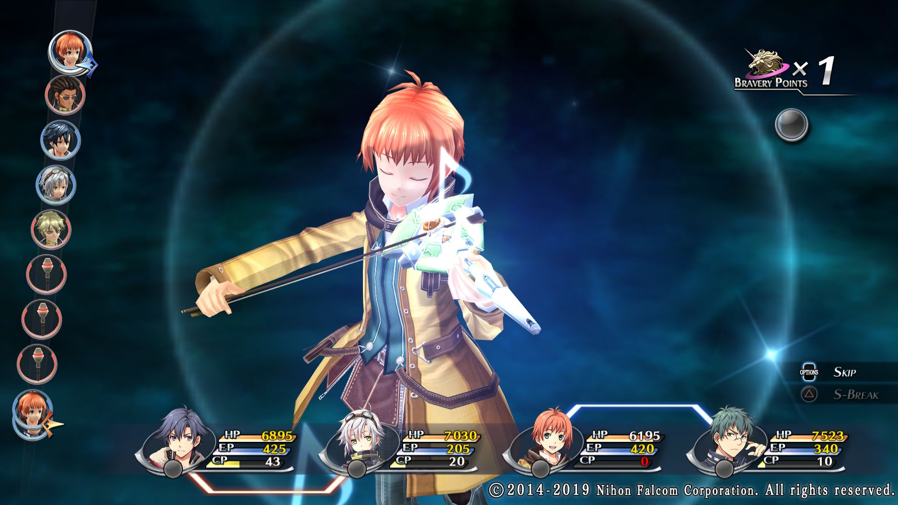 The Legend of Heroes: Trails of Cold Steel II, Elliot