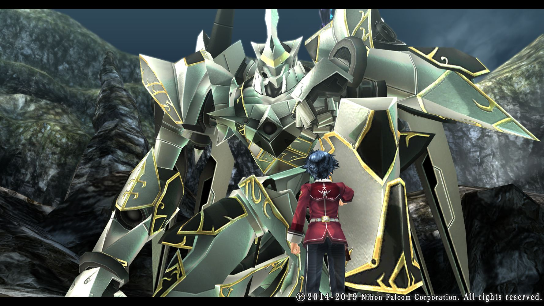 The Legend of Heroes: Trails of Cold Steel II, Rean e mecha