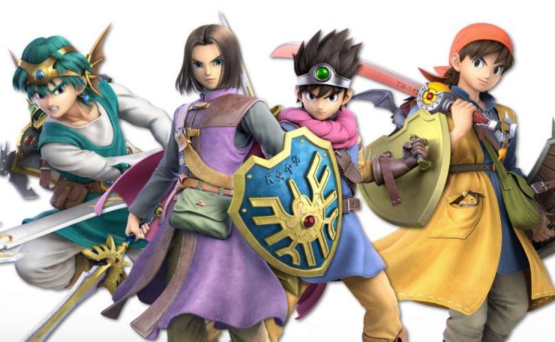 Super Smash Bros. Ultimate: disponibile oggi l'Eroe di DRAGON QUEST