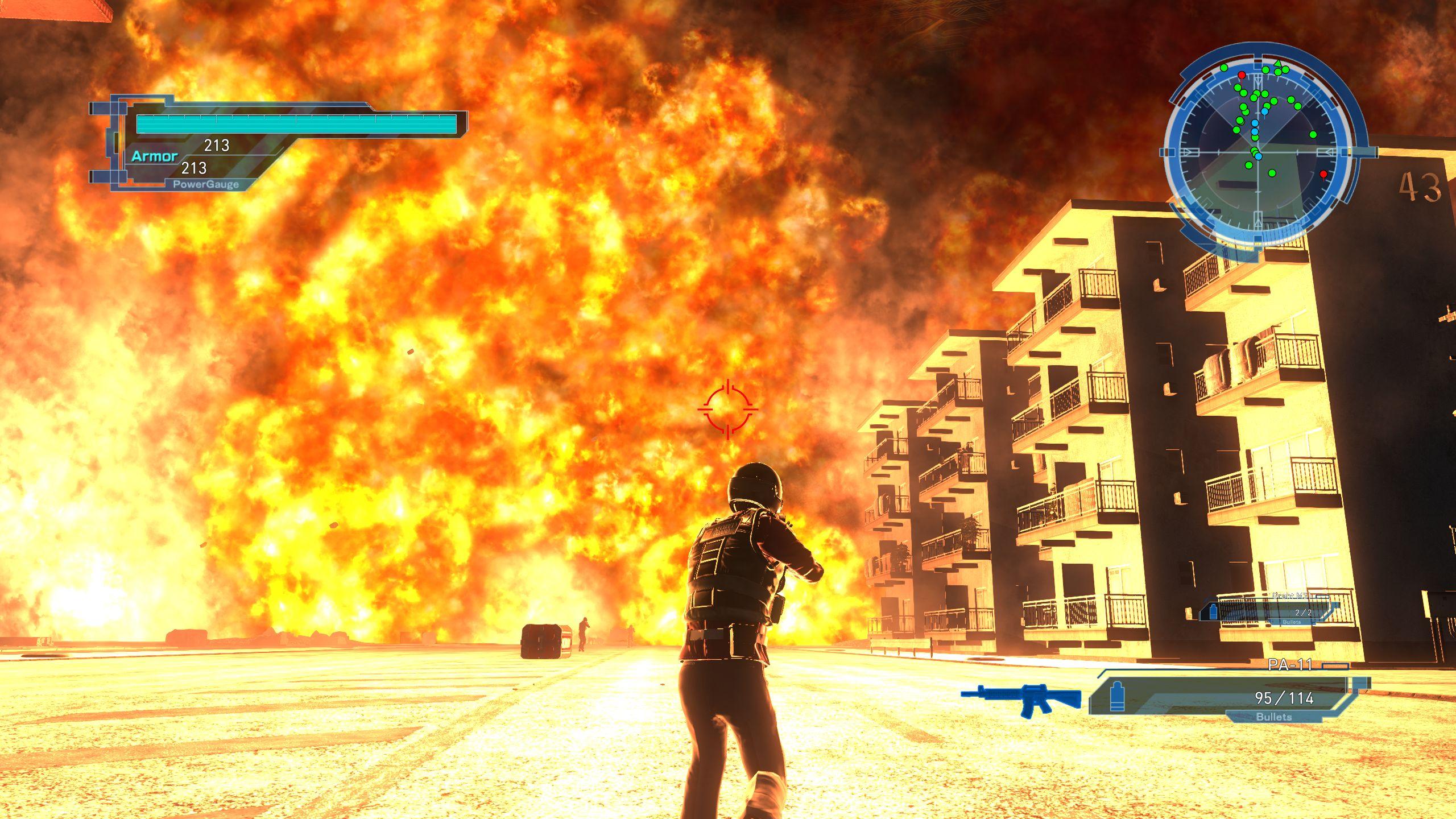 EARTH DEFENSE FORCE 5, recensione della versione Steam