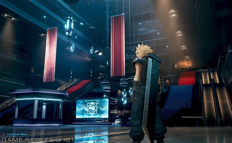FINAL FANTASY VII REMAKE: due nuove immagini mostrano l'edificio Shinra