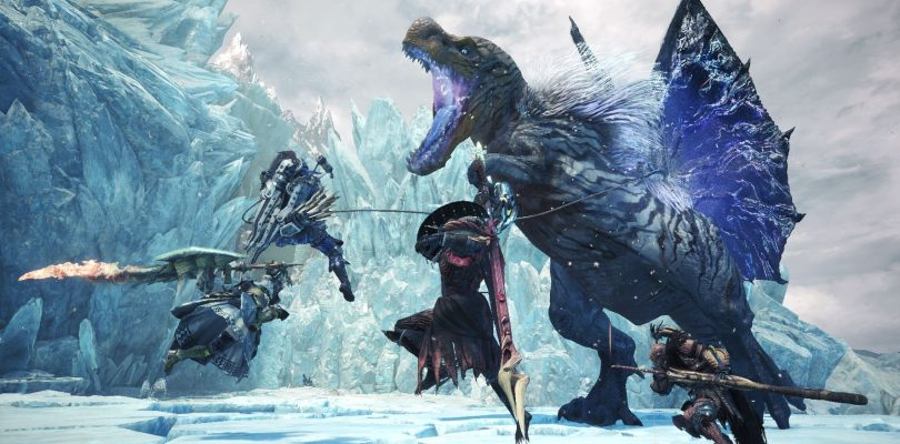 MONSTER HUNTER WORLD: ICEBORNE, un trailer rivela Glavenus, Fulgur Anjanath e Ebony Odogaron