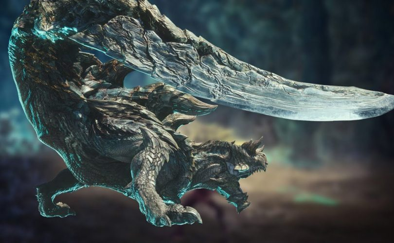 MONSTER HUNTER WORLD: ICEBORNE, l'Acidic Glavenus in azione