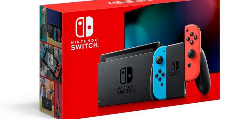 Nintendo Switch revisione batteria