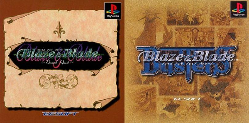 Blaze & Blade: Eternal Quest e Blaze & Blade: Busters disponibili in Giappone
