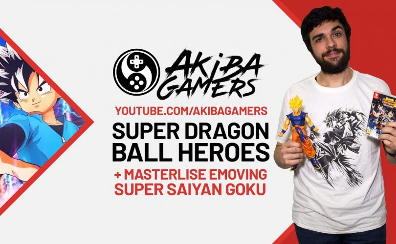 "VIDEO – SUPER DRAGON BALL HEROES in Italia! Unboxing di Super Saiyan Goku ""Masterlise Emoving"""