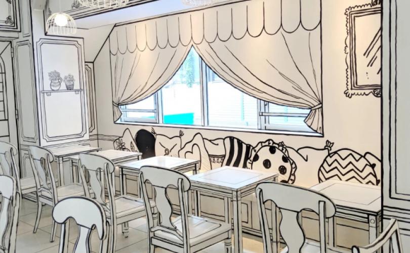 Tokyo accoglie lo stravagante (ma spettacolare) 2D Cafe