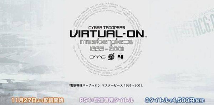 Cyber Troopers Virtual-On Masterpiece 1995~2001, la data di uscita giapponese