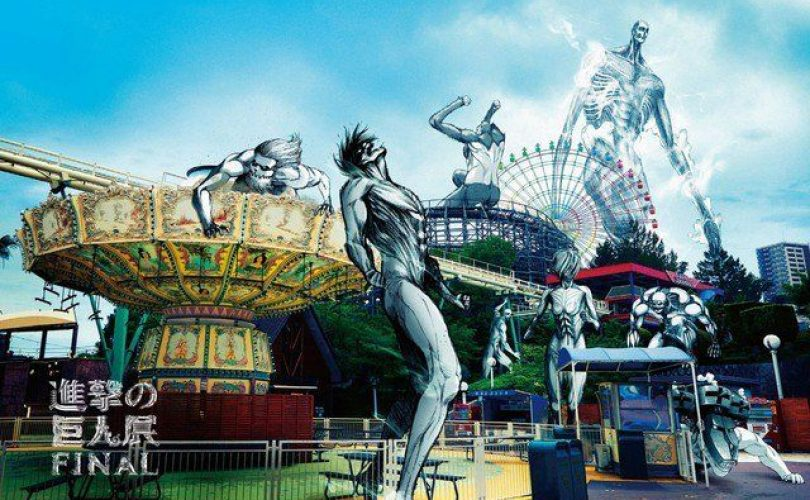 La mostra Attack on Titan FINAL sbarca a Osaka