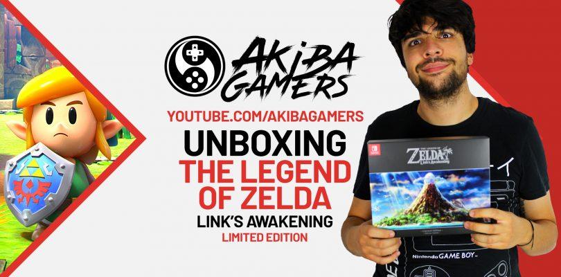 VIDEO – The Legend of Zelda: Link's Awakening UNBOXING