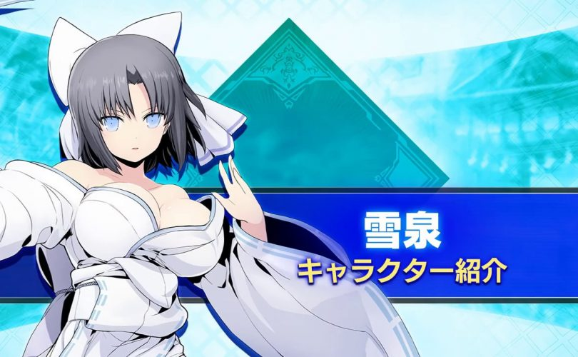 BLAZBLUE CROSS TAG BATTLE: un trailer per Yumi di SENRAN KAGURA