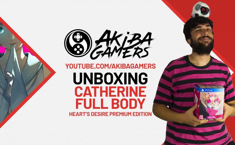 Catherine: Full Body - Heart's Desire Premium Edition UNBOXING