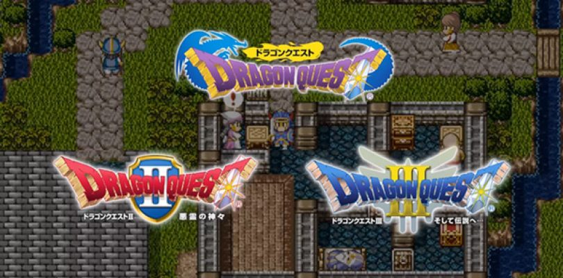 DRAGON QUEST I,II e III arriveranno su Nintendo Switch in Giappone