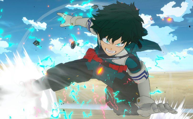 MY HERO ONE'S JUSTICE 2: un trailer ci mostra Deku contro Kai Chisaki